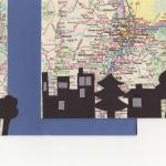 Cityscape  $8  Map, cut paper  Any city available