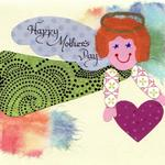 Collage Card  $10  Boy or Girl Angel   Custom Greeting   Great for birthday, Mothers Day, Valentines Day